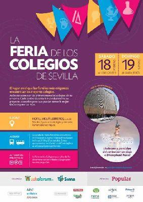 Feria de los colegios en el Hotel Meliá Lebreros de Sevilla