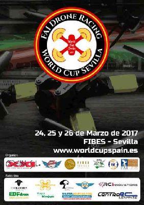 Feria de drones - World Cup Sevilla en Fibes 2017