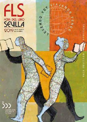 Cartel de la Feria del Libro de Sevilla 2019