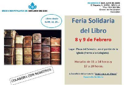 Feria solidaria del libro en la plaza del Salvador de Sevilla 2018