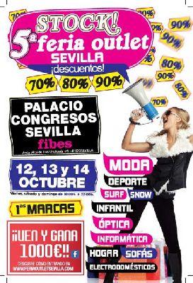 Stock! V Feria Outlet Sevilla en Fibes