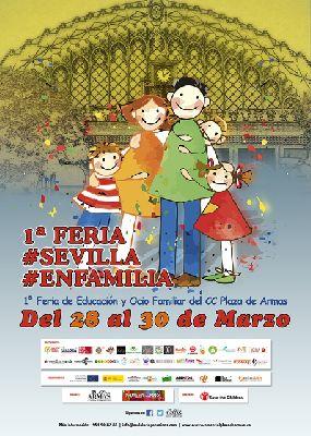 I Feria Sevilla en familia en el Centro Comercial Plaza de Armas
