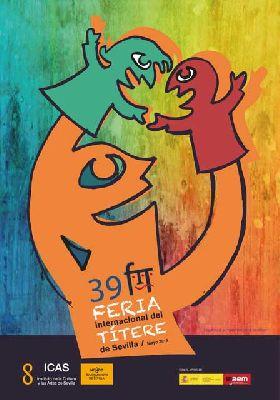 Cartel de la XXXIX Feria Internacional del Títere de Sevilla 2019