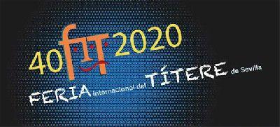 Cartel de la XL Feria Internacional del Títere de Sevilla 2020