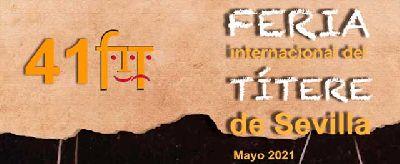 Cartel de la XLI Feria Internacional del Títere de Sevilla 2021