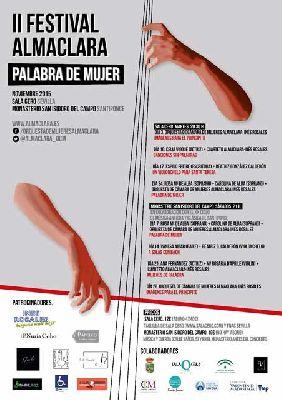 II Festival Almaclara Palabra de Mujer en Sevilla 2015
