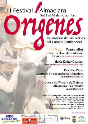 III Festival Almaclara Orígenes en Sevilla 2016