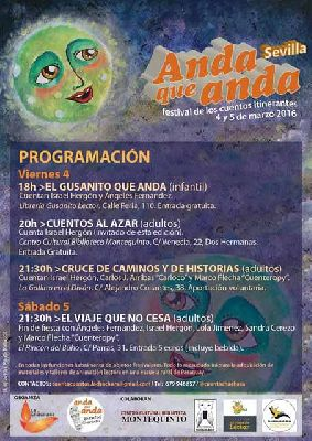 Festival de narración Anda que anda Sevilla 2016