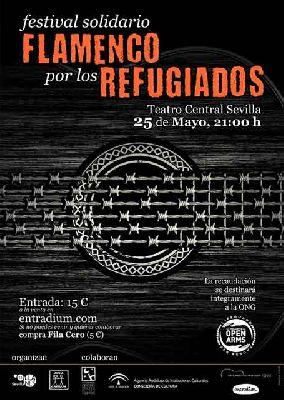 Festival solidario Flamenco por los refugiados en el Teatro Central de Sevilla