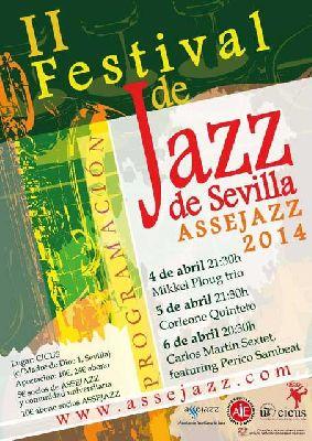 II Festival de jazz Assejazz en el CICUS de Sevilla