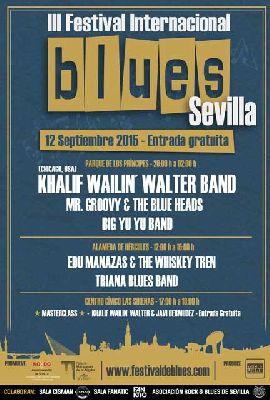 III Festival de Blues de la ciudad de Sevilla 2015