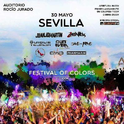 Festival of Colors 2015 en el Auditorio Rocío Jurado de Sevilla