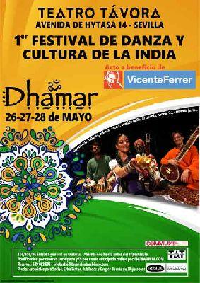 I Festival de Danza y Cultura de la India en Távora Teatro Abierto de Sevilla