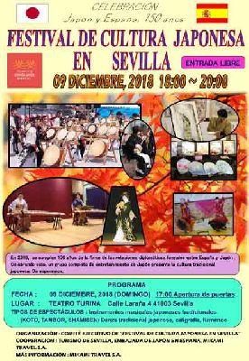 Festival de cultura japonesa en el Espacio Turina de Sevilla 2018