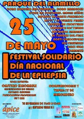 Festival solidario Día de la epilepsia en el parque del Alamillo