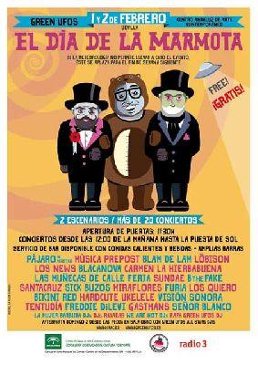 Festival El Día de la Marmota en el CAAC Sevilla
