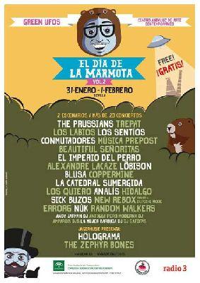 Festival El Día de la Marmota 2015 en el CAAC Sevilla