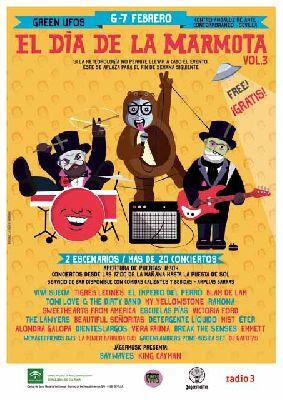 Festival El Día de la Marmota 2016 en el CAAC Sevilla