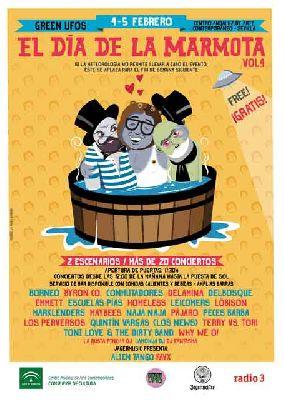 Festival El Día de la Marmota 2017 en el CAAC Sevilla