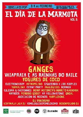 Festival El Día de la Marmota 2018 en el CAAC Sevilla
