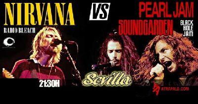 Cartel del concierto del Festival homenaje al Grunge en la Sala Even Sevilla 2019