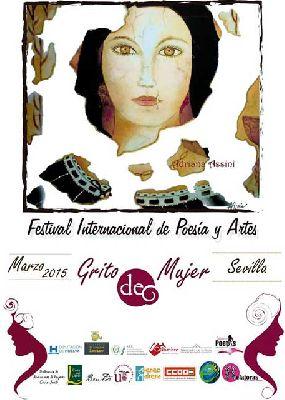 Festival Internacional de Poesía y Artes Grito de mujer Sevilla 2015