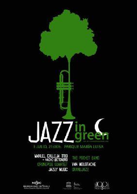 Concierto: Festival Jazz in Green en Parque María Luisa Sevilla