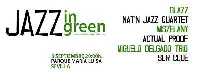II Festival Jazz in Green en Parque María Luisa Sevilla