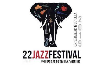 Cartel del 22 Festival de Jazz de la Universidad de Sevilla 2019