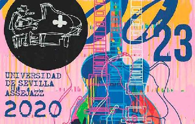 Cartel del 23 Festival de Jazz de la Universidad de Sevilla 2020