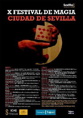 X Festival Internacional de Magia Ciudad de Sevilla 2013
