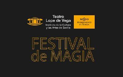 Cartel del Festival Internacional de Magia Ciudad de Sevilla 2019