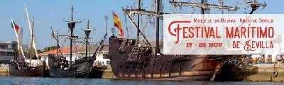 Festival Marítimo de Sevilla (visitas a réplicas de barcos históricos)