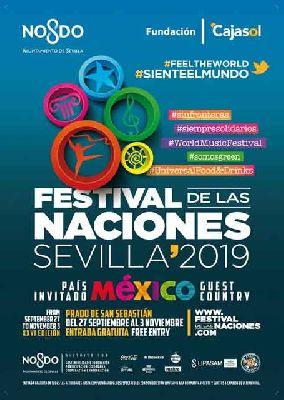 Cartel del XXVI Festival de las Naciones de Sevilla 2019