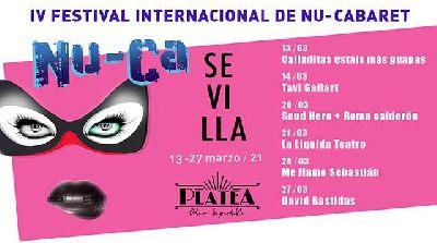 Cartel del IV Festival Internacional de Nu-Cabaret