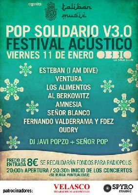 Festival Acústico Pop Solidario V3.0 en Sevilla