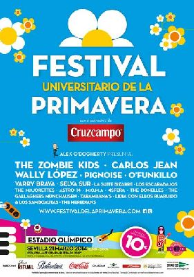 Concierto: Festival Universitario de la Primavera en Sevilla