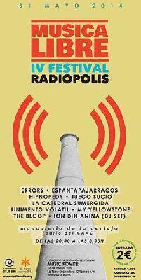 IV Festival Música Libre Radiópolis en el CAAC Sevilla