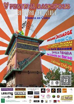 V Festival Radiópolis en el CAAC Sevilla 2015