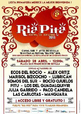 Concierto: Festival de sevillanas Riá Pitá en Sevilla 2018