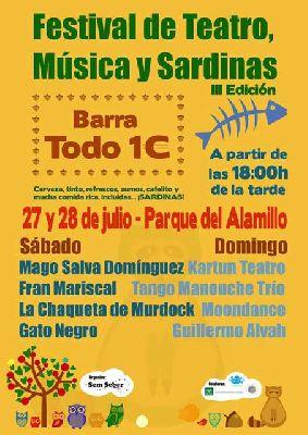 III Festival de Teatro, Música y Sardinas en parque del Alamillo