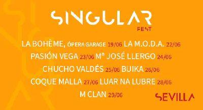 Festival Singular 2021 en Sevilla