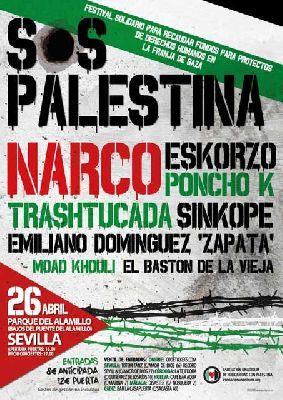 Concierto: Festival SOS Palestina en Sevilla