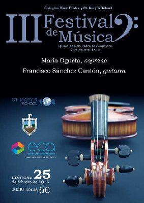 Concierto: María Ogueta y Francisco Sánchez en San Pedro de Alcántara Sevilla