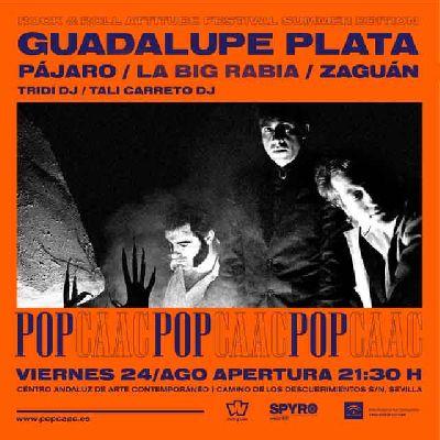 Concierto: Guadalupe Plata y Pájaro en Pop CAAC Sevilla 2018