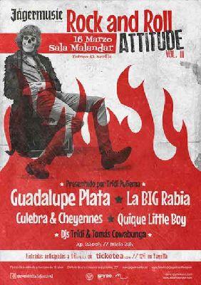 Concierto: Rock and Roll Attitude! en Malandar Sevilla (marzo 2018)