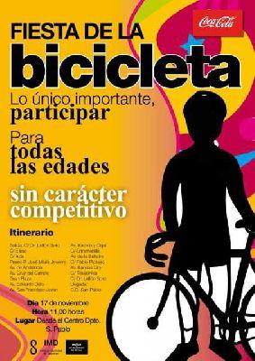 Fiesta de la Bicicleta en Sevilla 2013
