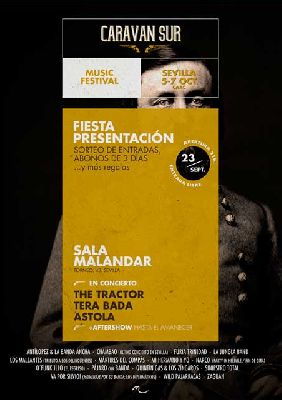 Concierto: Fiesta presentación de Caravan Sur en Malandar Sevilla