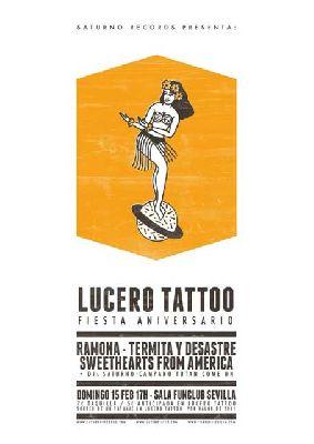 Concierto: Fiesta Lucero Tatoo en FunClub Sevilla