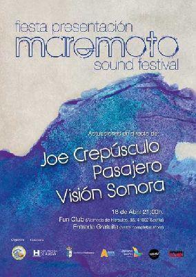 Concierto: presentación del Maremoto Sound en FunClub Sevilla